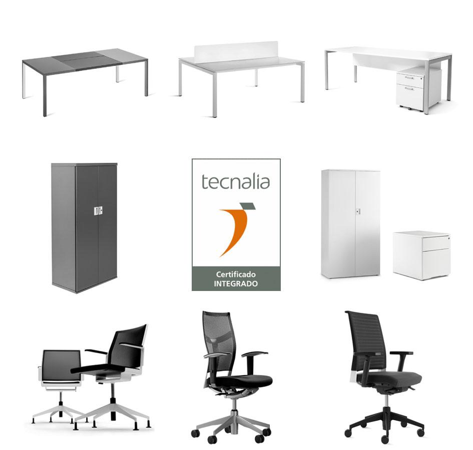 Certificado tecnalia para muchos de los productos que for Fabricantes de mobiliario de oficina