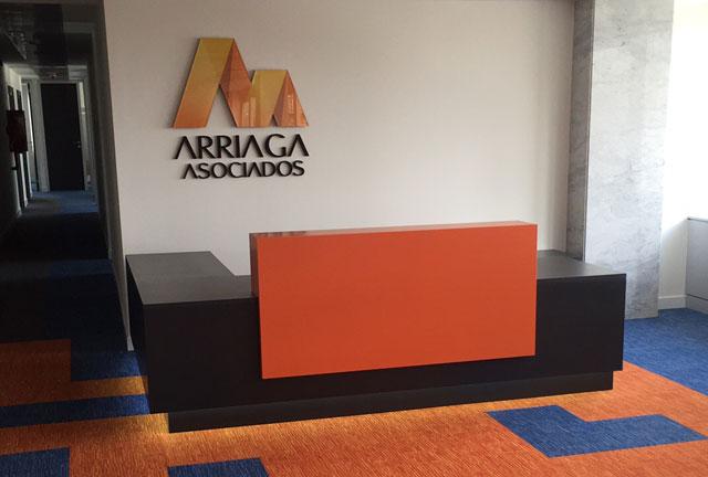 Dynamobel amuebla las oficinas centrales de Arriaga Asociados.