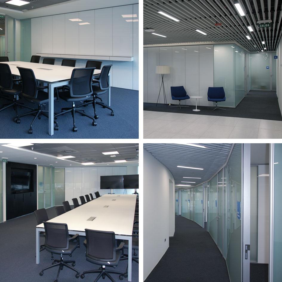 Partici n y mueble dynamobel en la nueva sede de bbva for Bbva oficina central