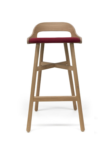 BE WOOD stool