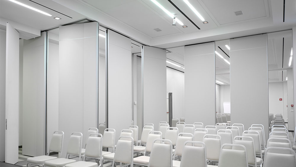 Auditoriums – Movable partitions 1