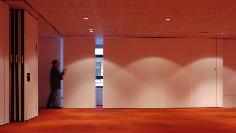 Auditoriums – Movable partitions 2