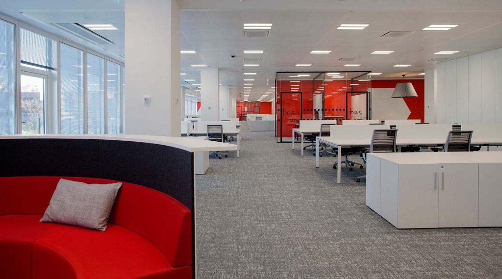 Axa fabricante de mobiliario de oficina dynamobel for Axa seguros sevilla oficinas