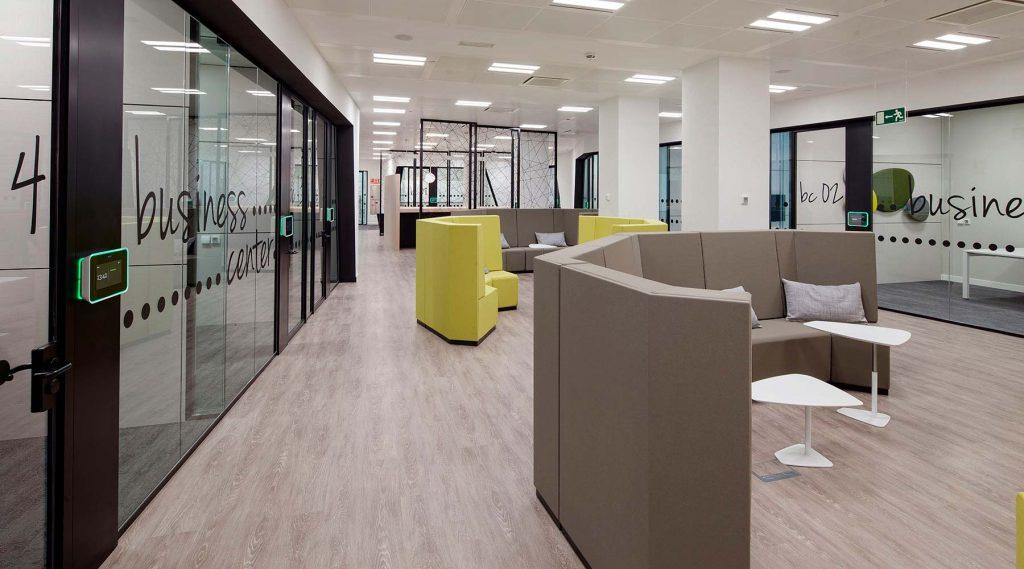 Proyecto de oficina para axa dynamobel for Axa seguros sevilla oficinas