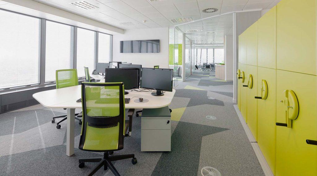 Proyecto de oficina para gesternova dynamobel - Oficinas de adeslas en madrid ...