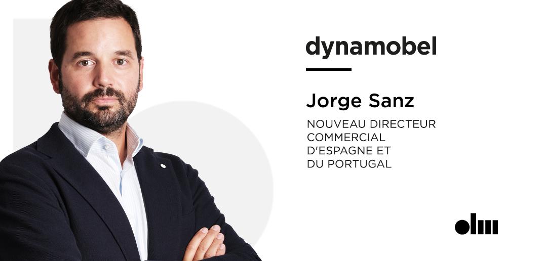 Jorge Sanz, Nouveau directeur commercial d'Espagne et du Portugal de Dynamobel